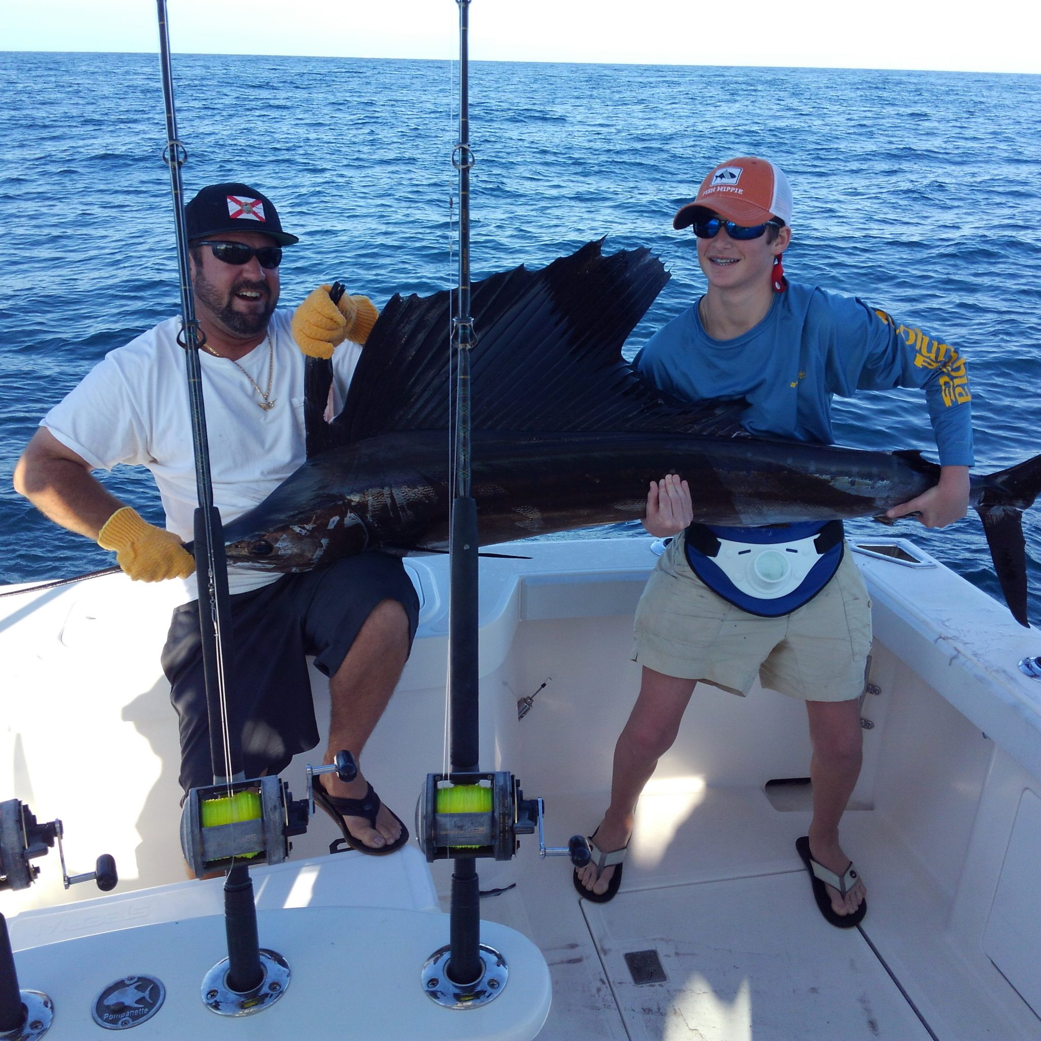 Sailfish and dolphin stuart fl charter fishing reel for Fishing charters stuart fl